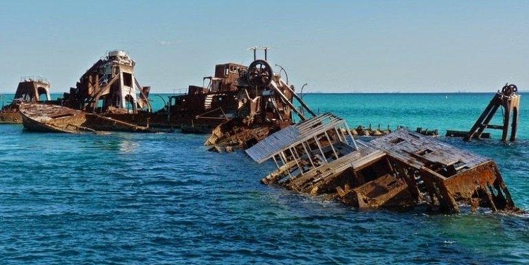 Кораблекрушения острова Мортон