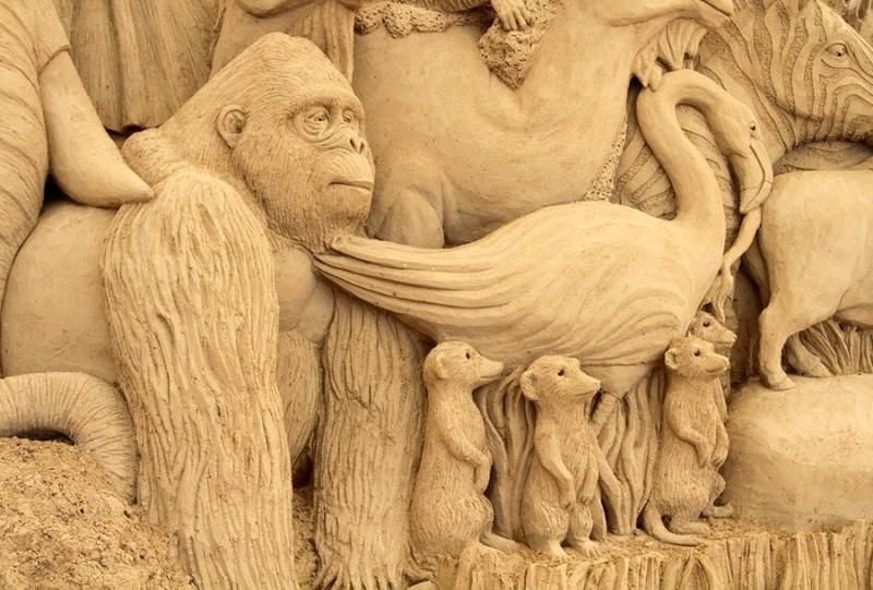 Скульптуры в Тоттори (Япония)