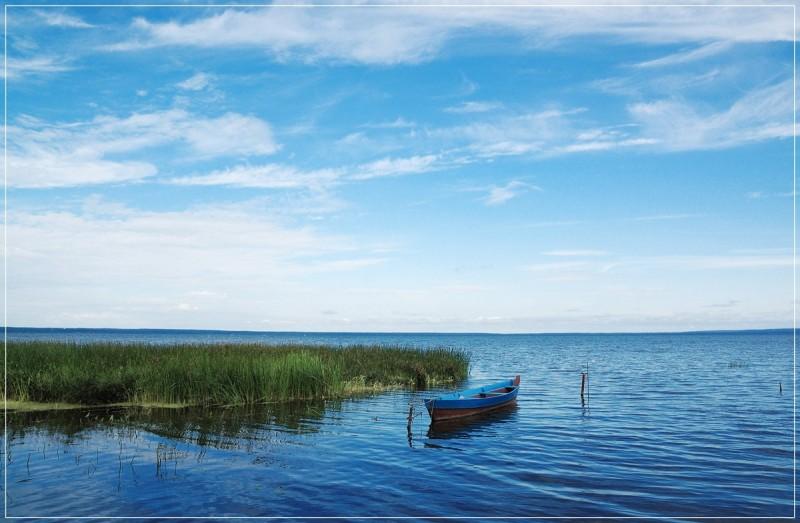 Россия, Ярославская область, Переславский район, озеро Плещеево. 0