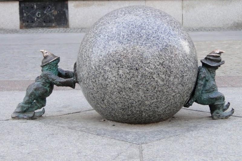 Вроцлавские гномы – городские талисманы 0