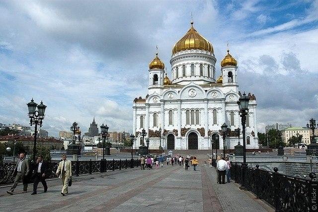 Храм Христа Спасителя в Москве, Россия. 0