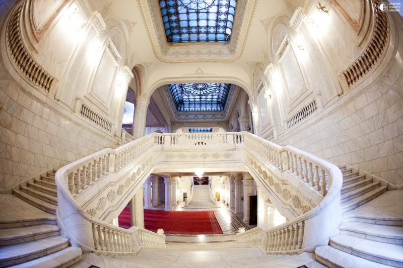 Дворец Чаушеску в Бухаресте, Румыния 6