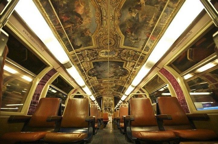 Преображение поезда Париж-Версаль. 1