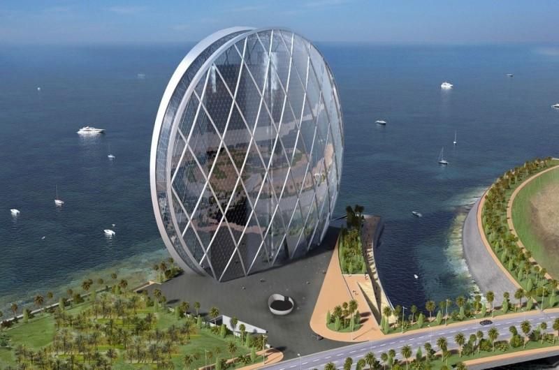 Круглый небоскреб в Абу-Даби: одно из самых необычных зданий на планете (ОАЭ)