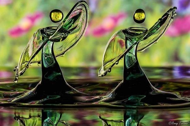 Потрясающие жидкие скульптуры от Ронни Тертнеса 8