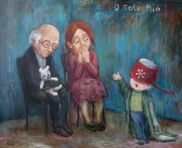 10 картин художницы Нино Чакветадзе, от которых становится тепло и уютно на  душе