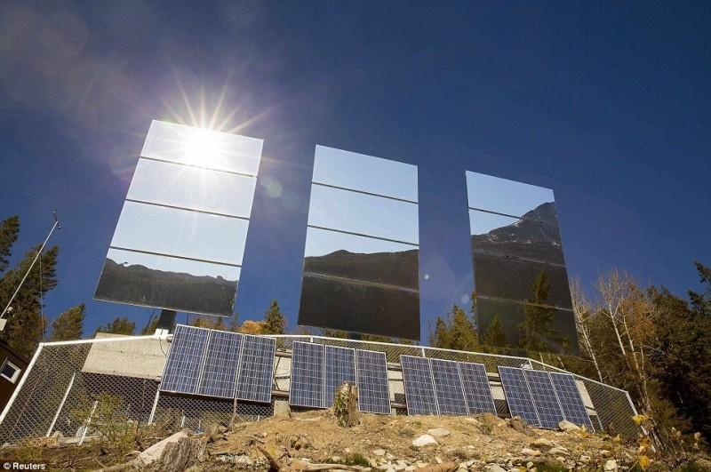 Рьюкан: деревня, которая освещается зеркалами (Норвегия)