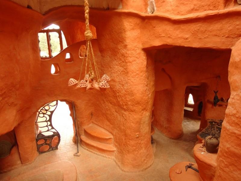картинки домов из глины нас