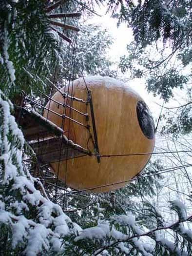Сферы свободного духа: дома на деревьях