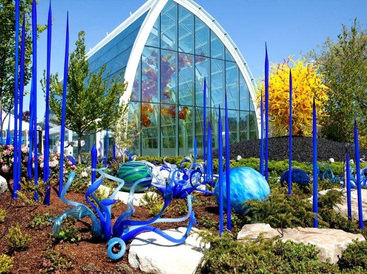 Сад из стекла Дейла Чихули