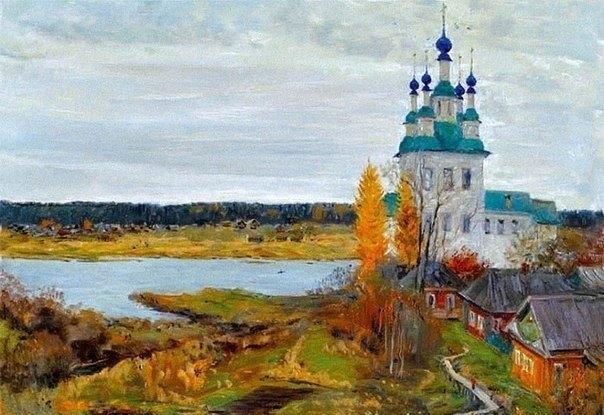 Душевная живопись Олега Молчанова 4