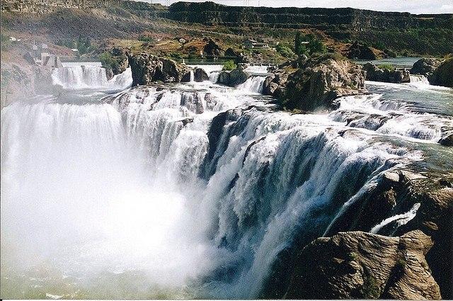 Водопад Руакана, Юго-Западная Африка