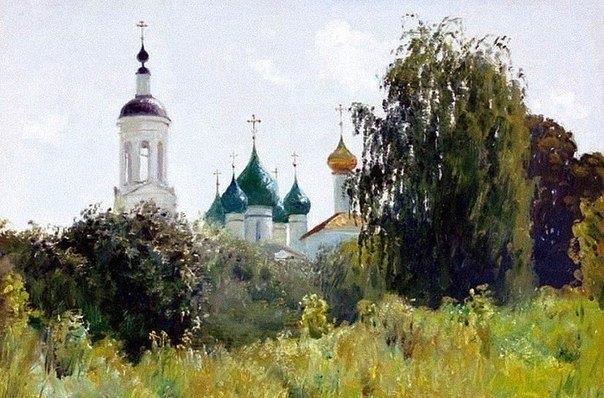 Душевная живопись Олега Молчанова 3